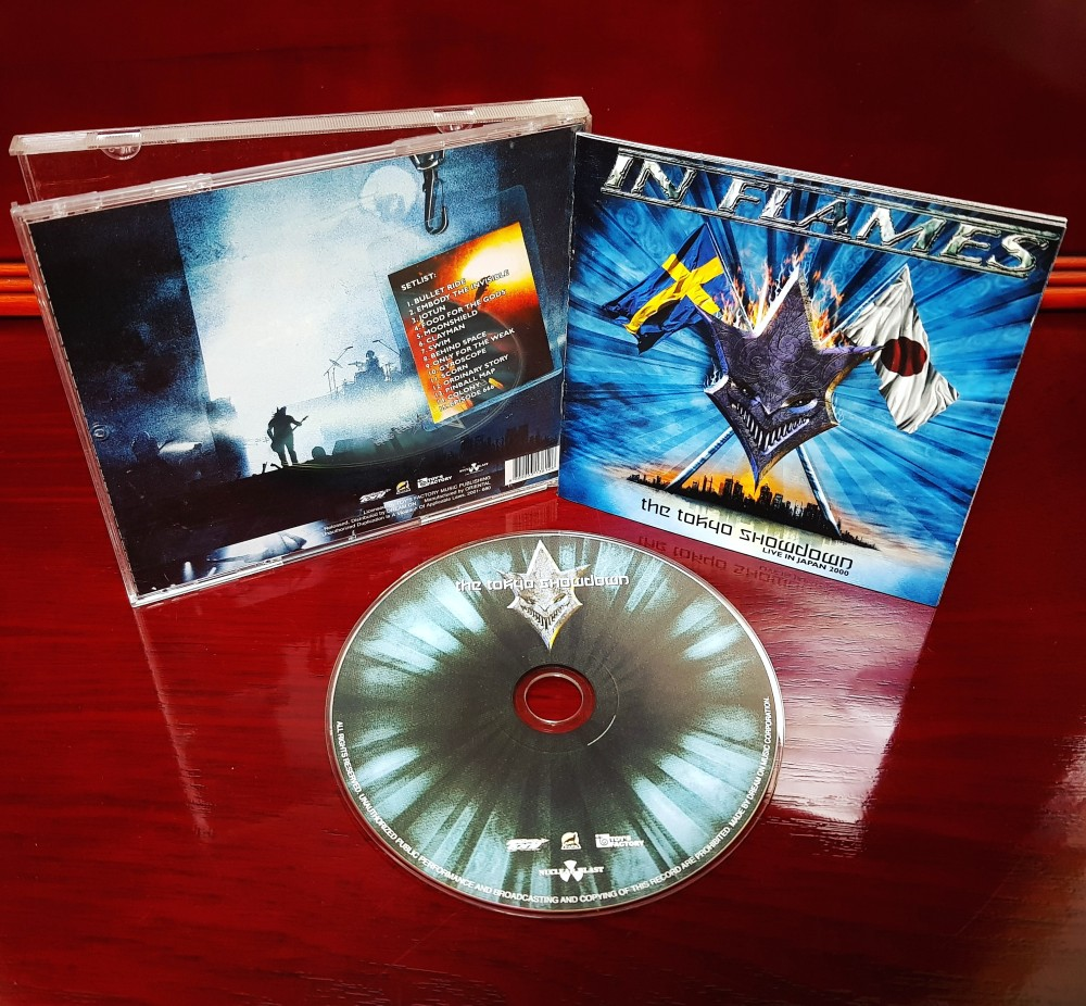 In Flames - The Tokyo Showdown CD Photo