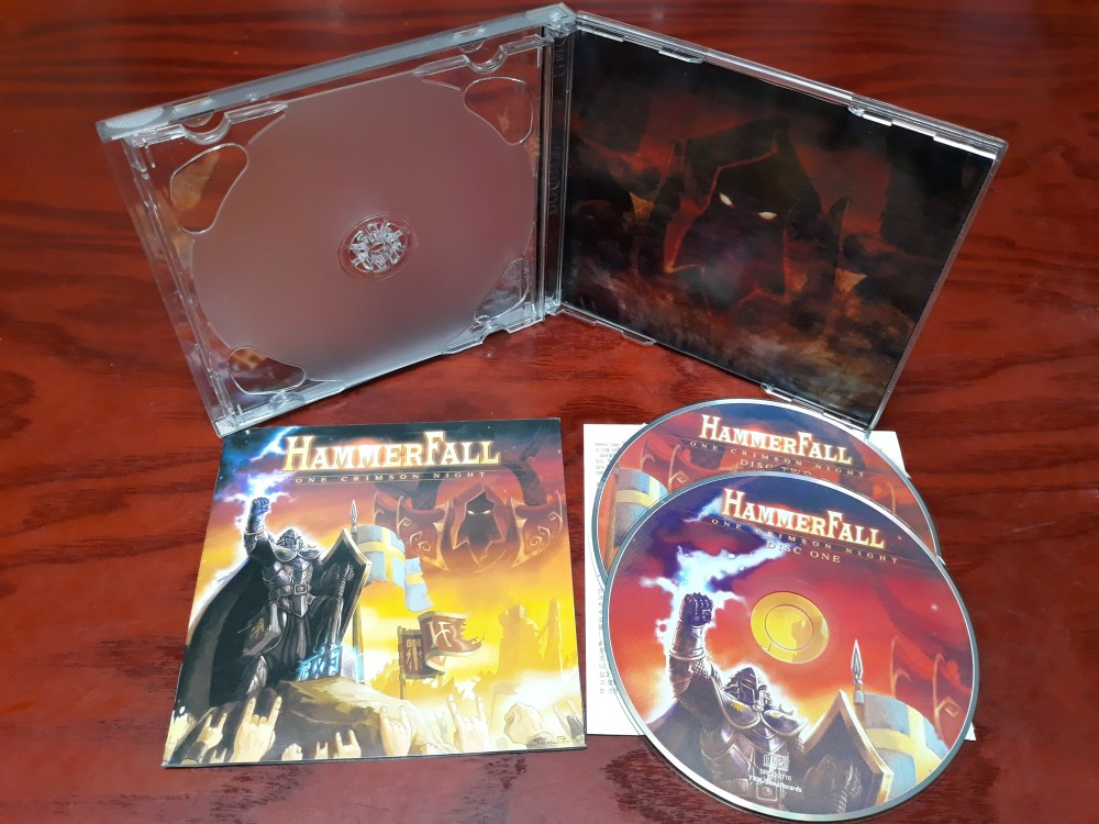 Hammerfall - One Crimson Night CD Photo