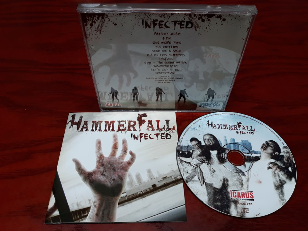 HammerFall - Infected CD Photo