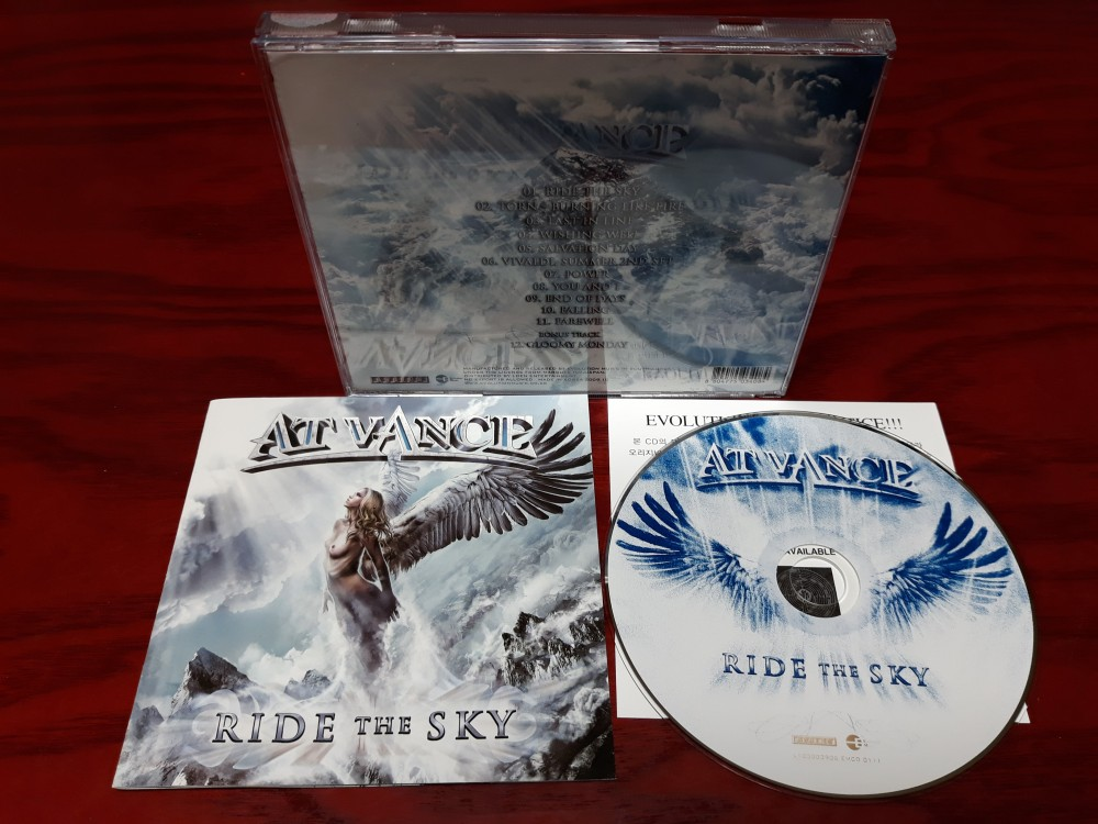 At Vance - Ride the Sky CD Photo
