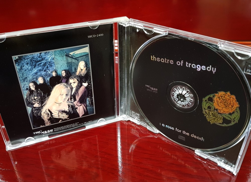 Theatre Of Tragedy - A Rose for the Dead CD Photo