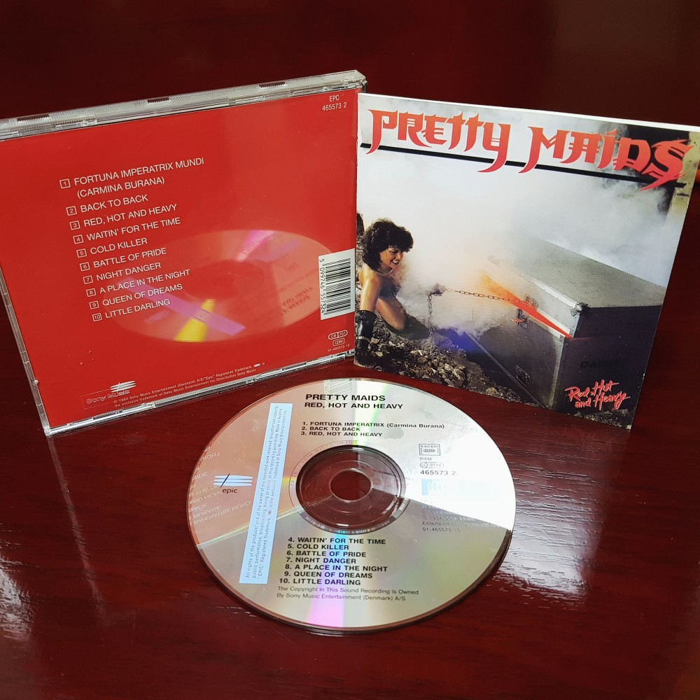 Pretty Maids - Red, Hot and Heavy CD Photo