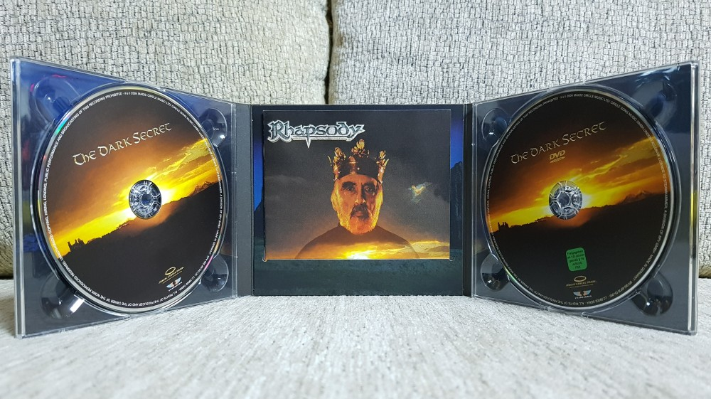 Rhapsody - The Dark Secret CD, DVD Photo