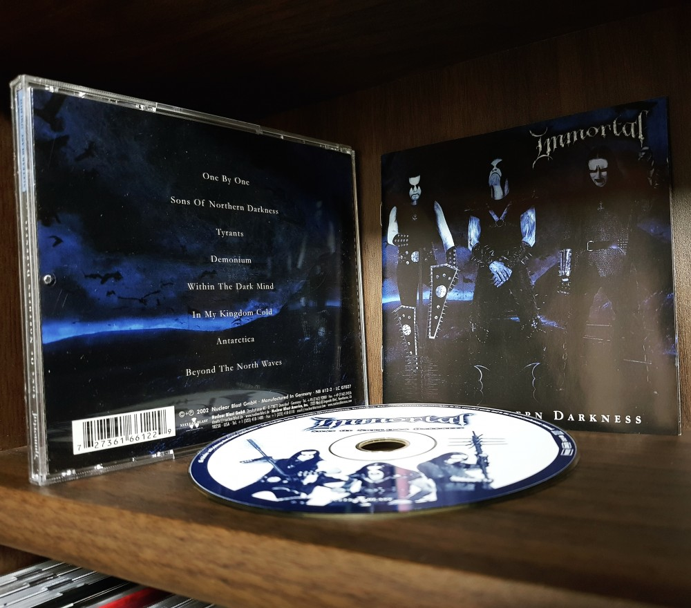 Immortal - Sons of Northern Darkness CD Photo