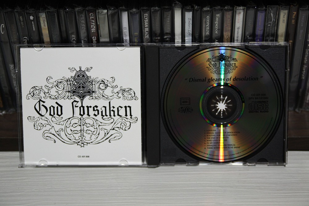 God Forsaken - Dismal Gleams of Desolation CD Photo