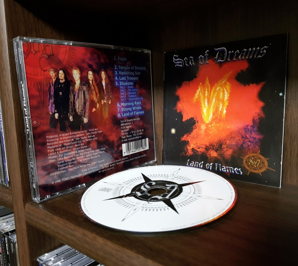 Sea Of Dreams - Land of Flames CD Photo