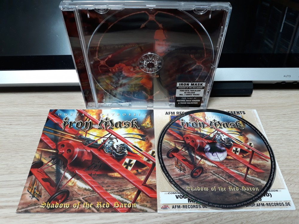 Iron Mask - Shadow of the Red Baron CD Photo