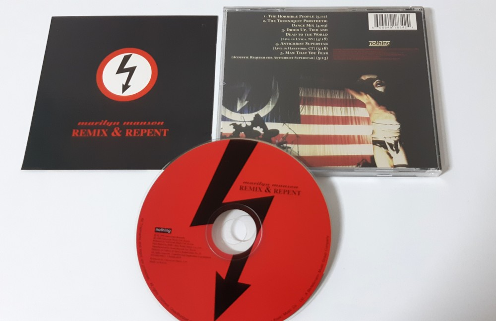 Marilyn Manson - Remix & Repent CD Photo