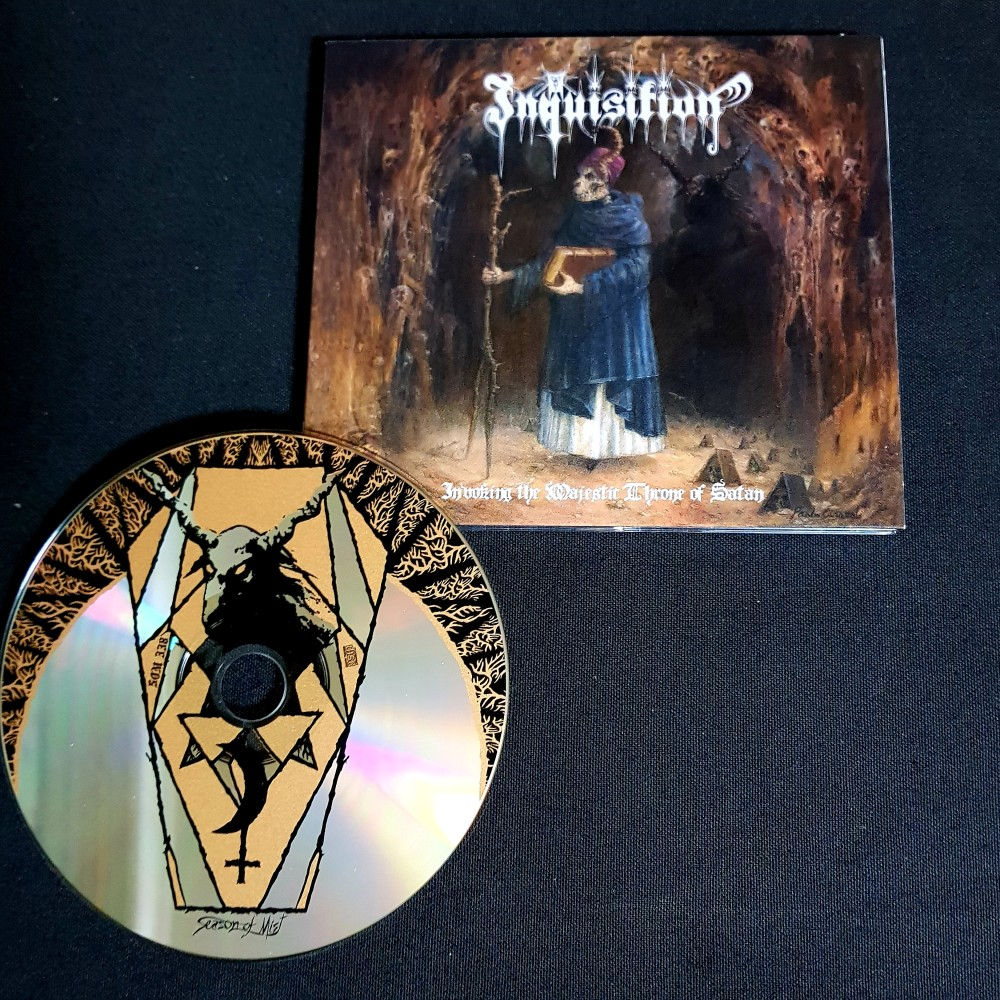Inquisition - Invoking the Majestic Throne of Satan CD ...
