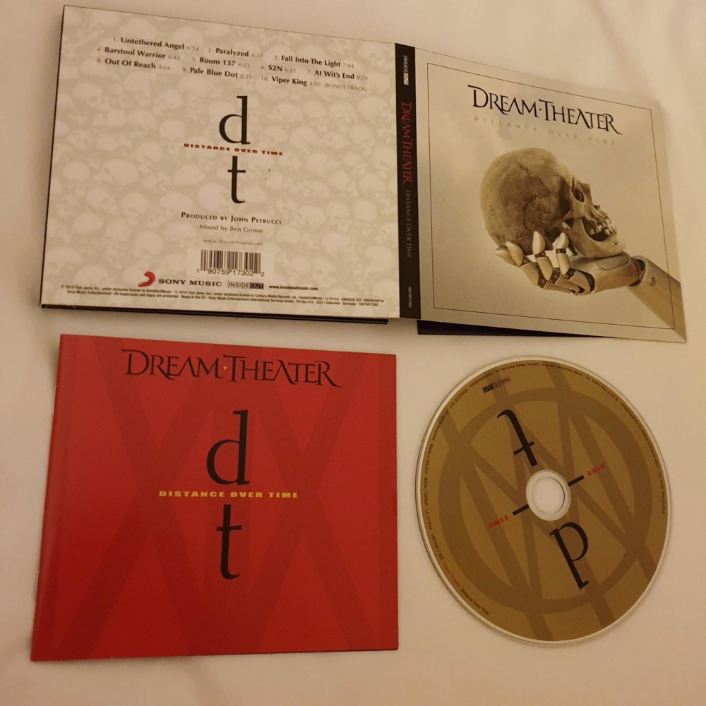 Dream Theater - Distance Over Time CD Photo