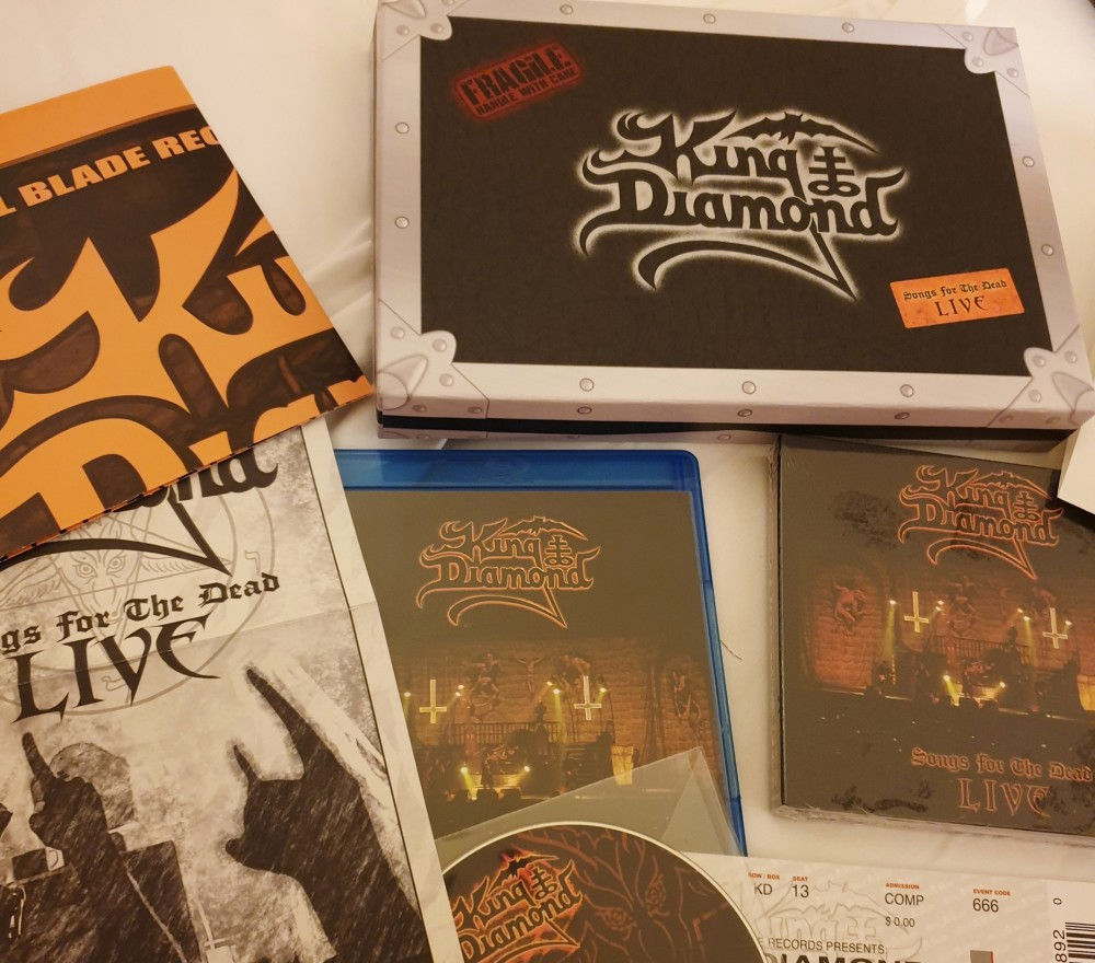 King Diamond - Songs for the Dead Live CD, DVD, Blu-ray Photo