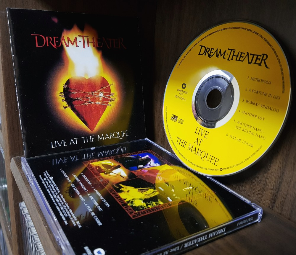 Dream Theater - Live at the Marquee CD Photo