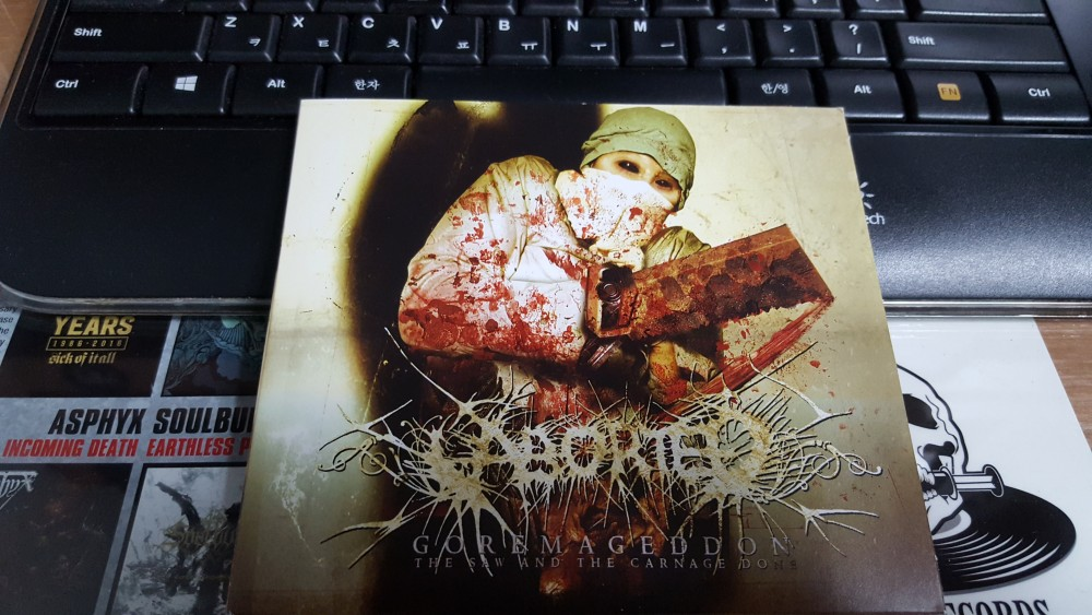 Aborted - Goremageddon: The Saw and the Carnage Done CD Photo
