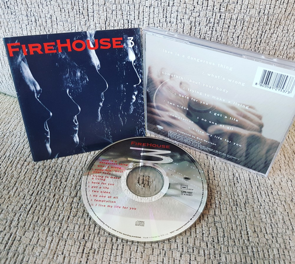 Firehouse - Firehouse 3 CD Photo