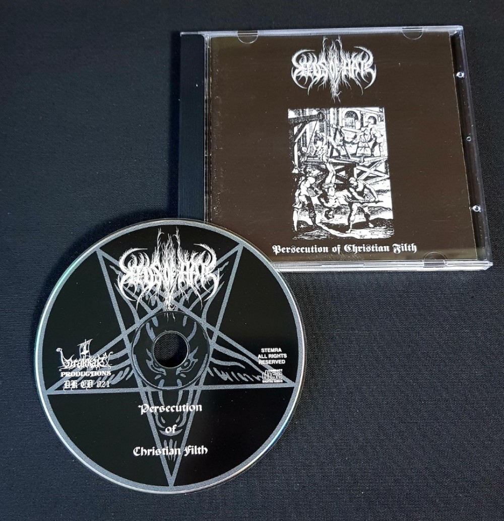 Seeds Of Hate - Persecution of Christian Filth CD Photo