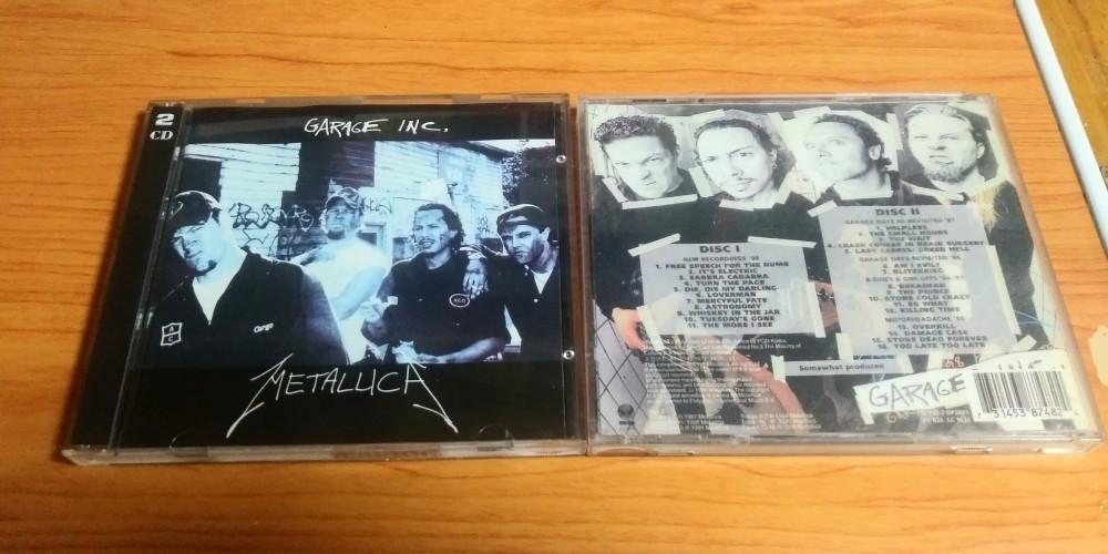 Metallica Garage Inc Cd Photo Metal Kingdom