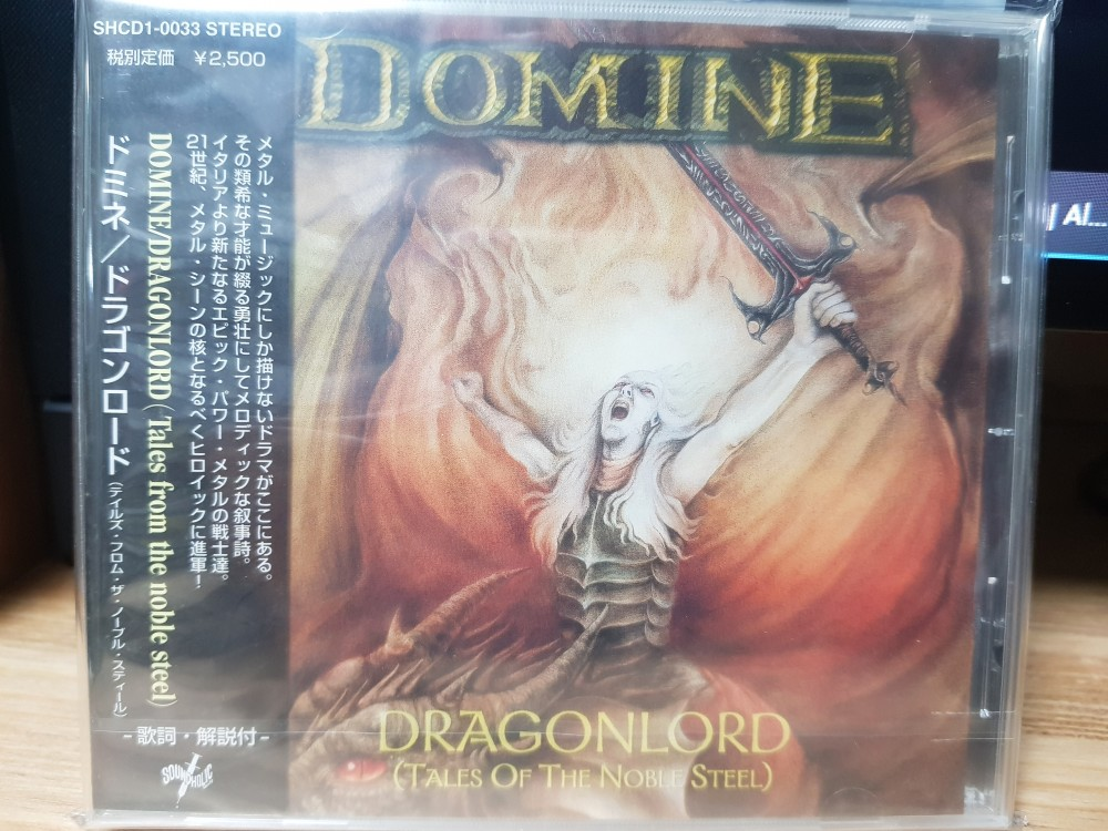 Domine - Dragonlord - Tales of the Noble Steel CD Photo