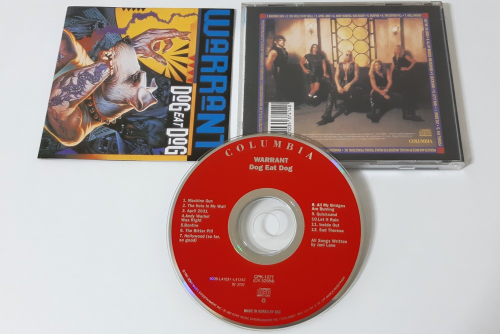 Warrant - Dog Eat Dog CD Photo