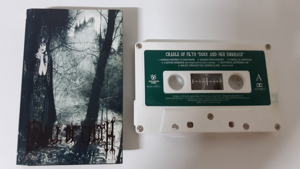Cradle of Filth - Dusk... and Her Embrace Cassette Photo