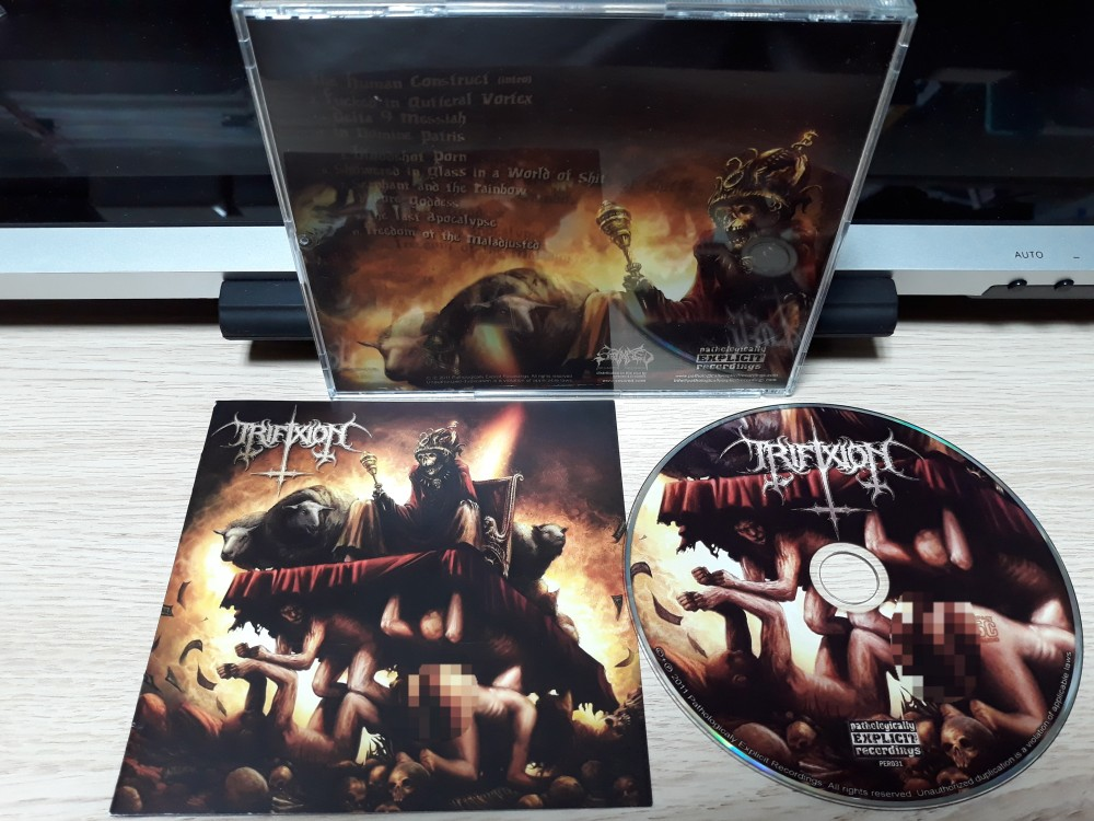 Trifixion - A Utopia for the Damned CD Photo