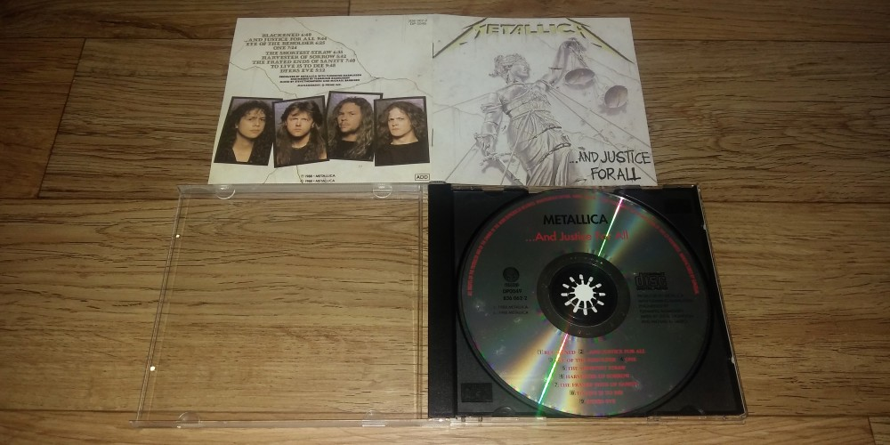 metallica and justice for all cd photo metal kingdom