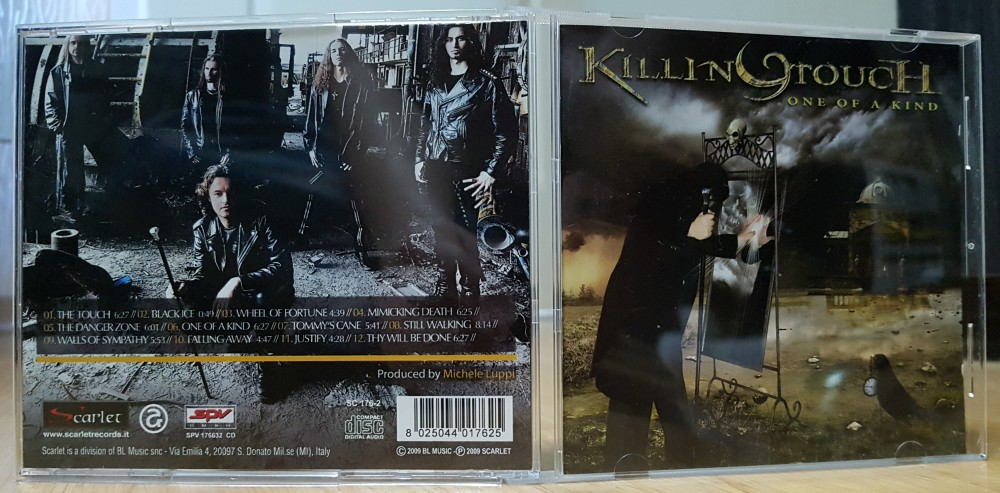 Killing Touch - One of a Kind CD Photo