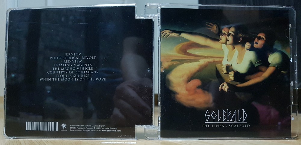 Solefald - The Linear Scaffold CD Photo