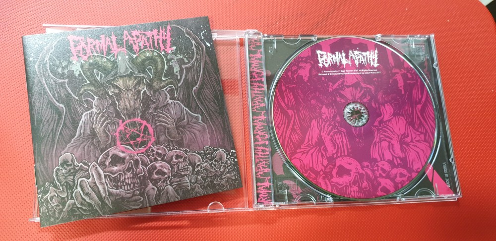 Formal Apathy - The Upper Hand CD Photo