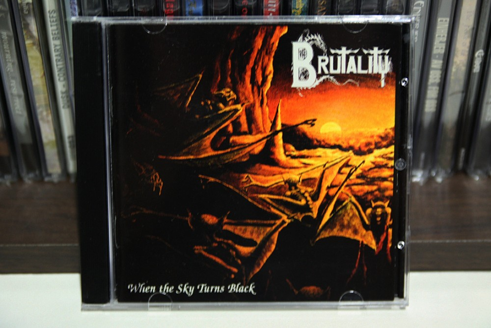 Brutality - When the Sky Turns Black CD Photo