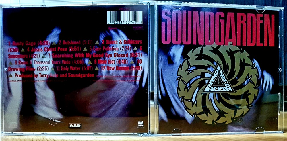 Soundgarden - Badmotorfinger CD Photo