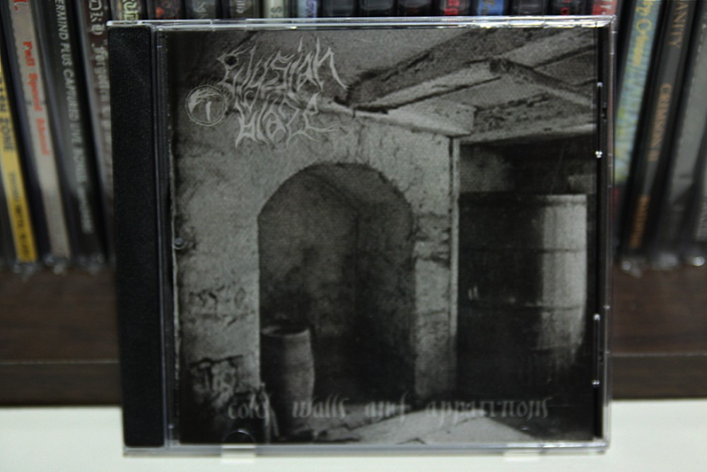 Elysian Blaze - Cold Walls and Apparitions CD Photo
