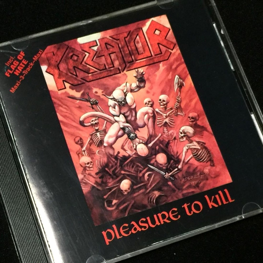 Kreator - Pleasure to Kill CD Photo | Metal Kingdom