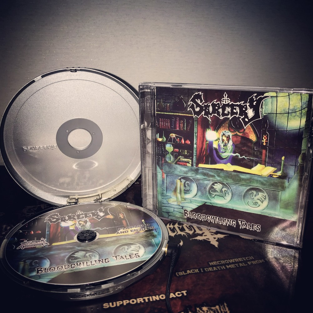 Sorcery - Bloodchilling Tales CD Photo