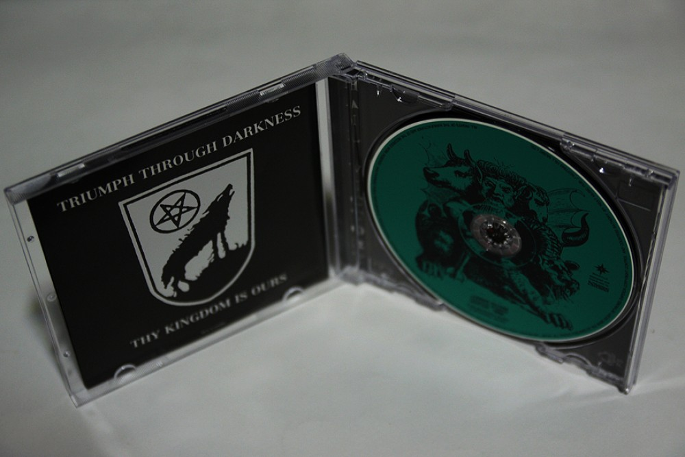 Vital Remains - Into Cold Darkness CD Photo