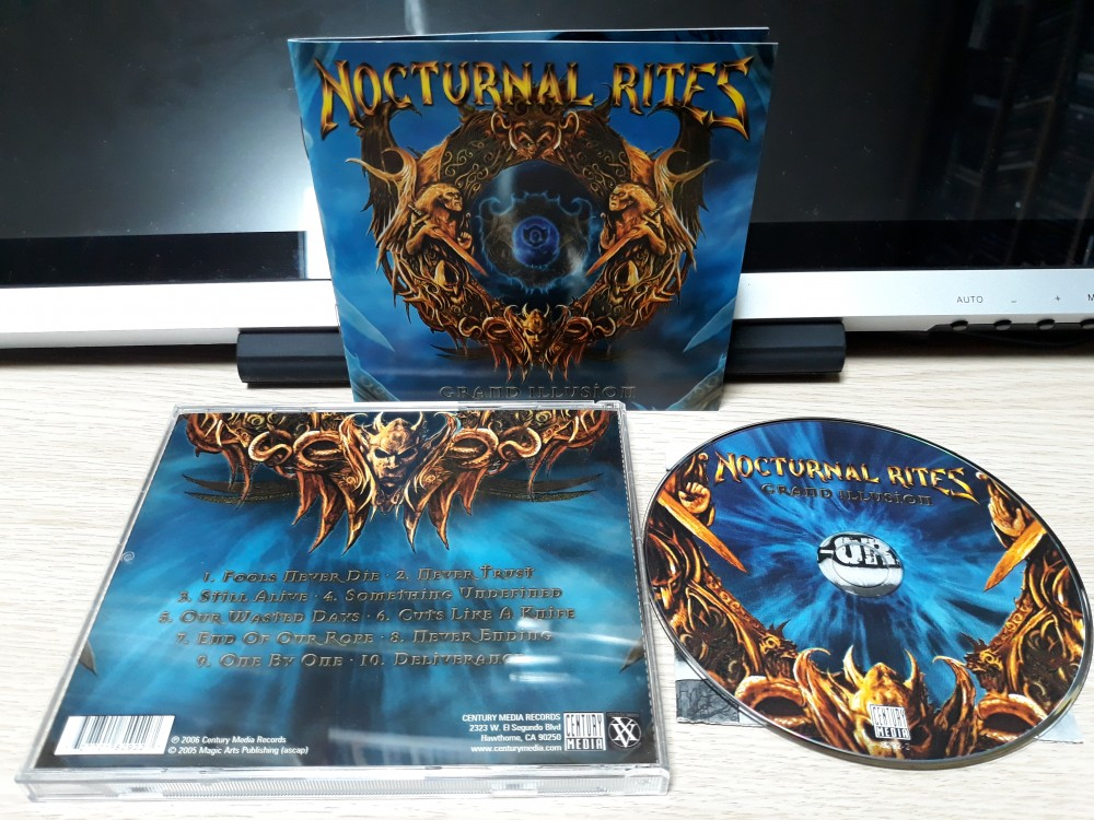 Nocturnal Rites - Grand Illusion CD Photo