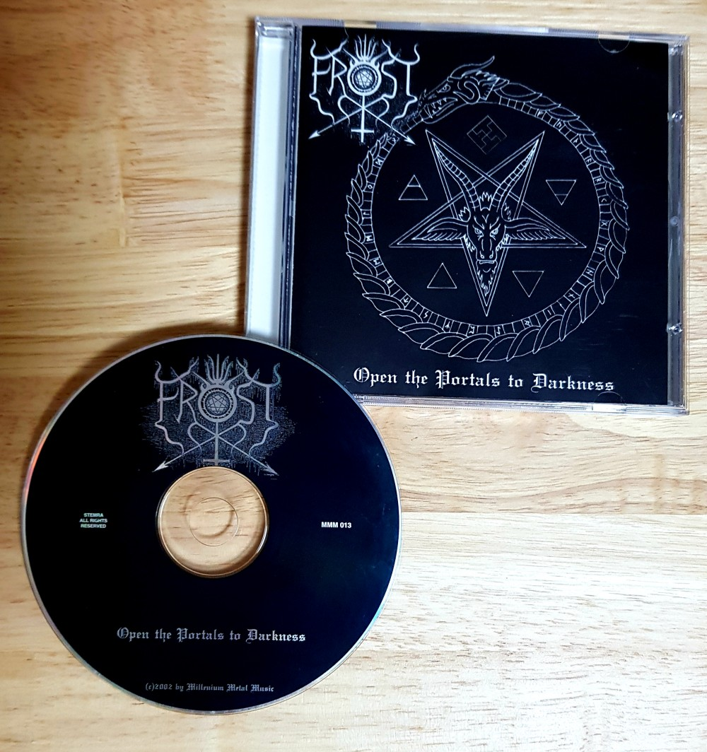 The True Frost - Open the Portals to Darkness CD Photo
