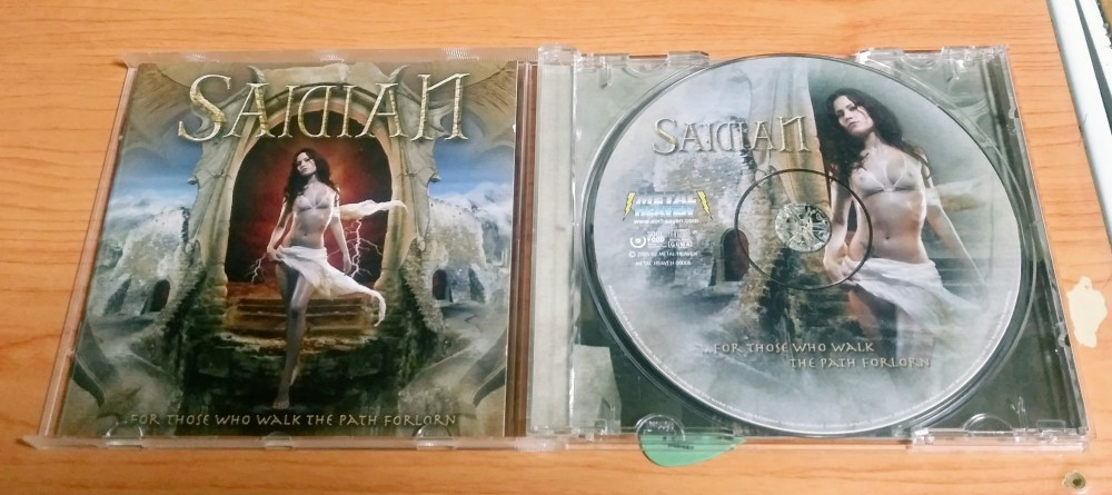 Saidian - ...For Those Who Walk the Path Forlorn CD Photo