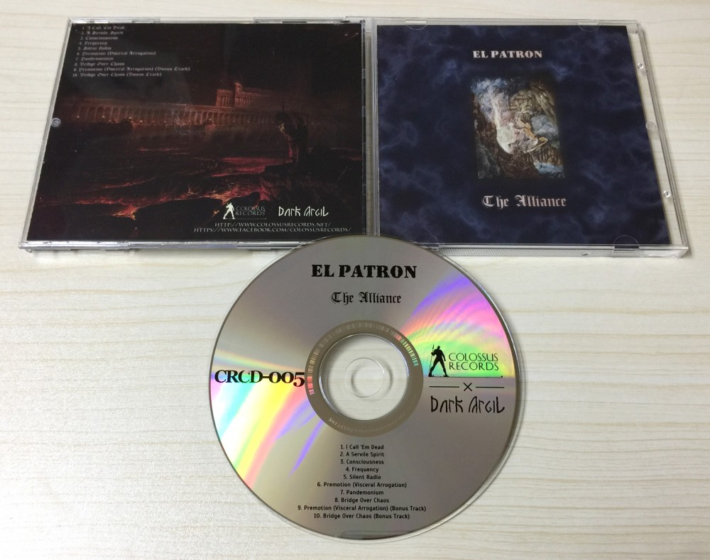 El Patron - The Alliance CD Photo