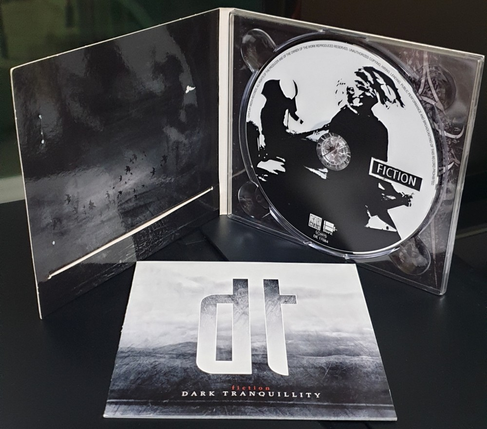 Dark Tranquillity - Fiction CD Photo