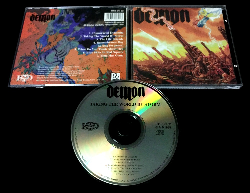 Demon - Taking the World by Storm CD Photo
