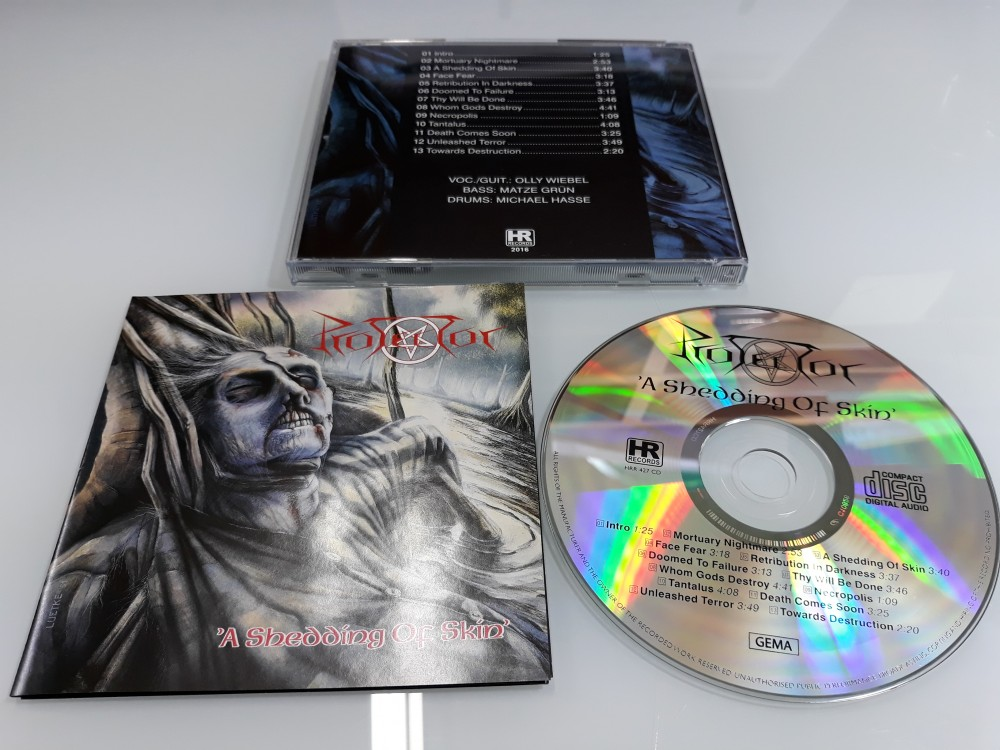 Protector - A Shedding of Skin CD Photo