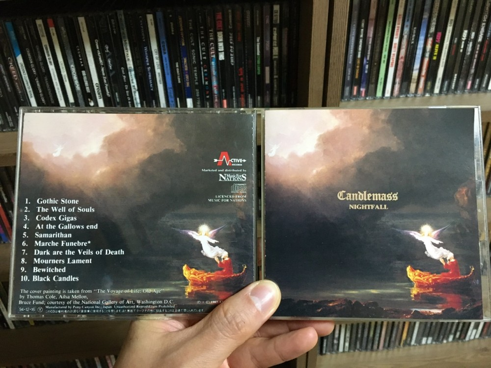 Candlemass - Nightfall CD Photo