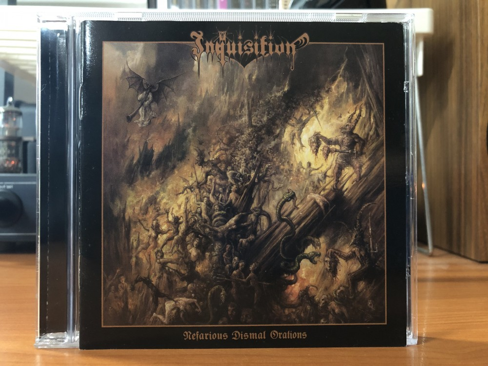 Inquisition - Nefarious Dismal Orations CD Photo