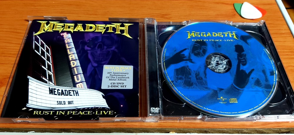 Megadeth - Rust in Peace Live CD Photo