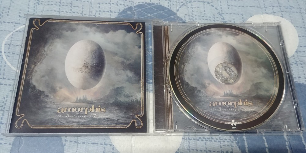 Amorphis - The Beginning of Times CD Photo