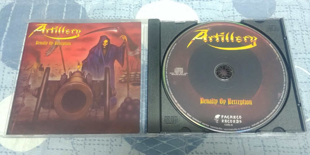 Artillery - Penalty By Perception CD Photo