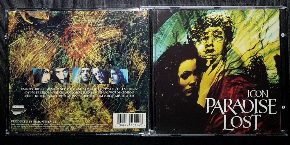 Paradise Lost - Icon CD Photo