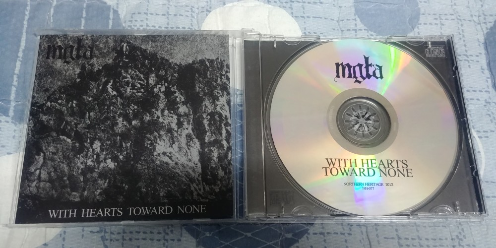 Mgła With Hearts Toward None Cd Photo Metal Kingdom