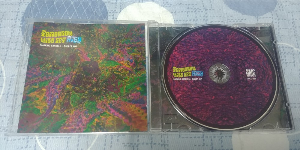 Smoking Barrels / Bullet Ant - Tomorrow Will Get High CD Photo