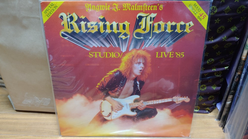 Yngwie Malmsteen - Trial By Fire - Live in Leningrad Vinyl Photo